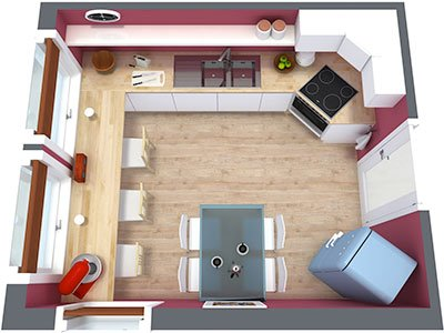 Tips to consider to professionally design your own kitchen pink shill the best design is the one you do yourself as no one else can possibly understand all of your needs and wishes this is why many people try to study design solutioingenieria Images